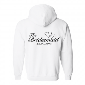 Children's Heart Bridal Hoodie