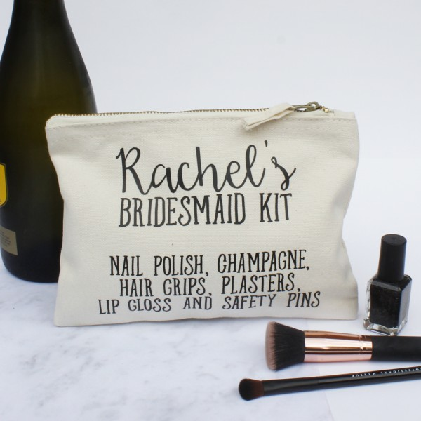 Bridesmaid Kit Makeup and Toiletry Case