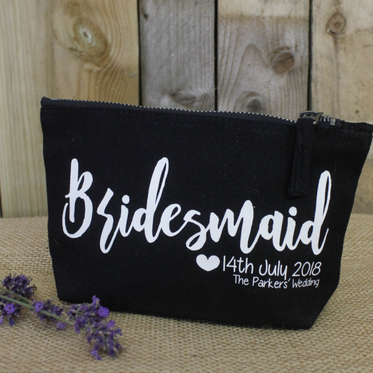 classic shoes coupon code best choice Personalised Bridesmaid Kit Makeup and Toiletry Bag