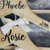 Black Bridal Party Hanger